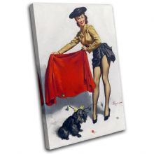 Vintage Girl Retro Pin-ups - 13-2043(00B)-SG32-PO